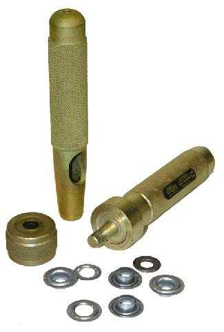 Инструменты для установки люверсов Z16 d16 мм, 3 элемента