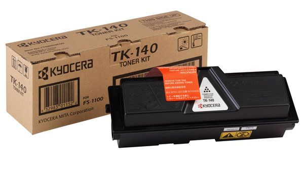 Фото - Тонер-картридж Kyocera TK-140 (1T02H50EUC) тонер картридж kyocera tk 140 1t02h50euc black