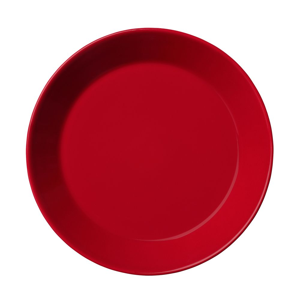 Тарелка Teema, малая, красная глубокая тарелка teema черная
