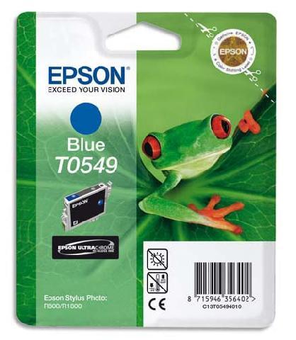 Картридж с синими чернилами T0549 (C13T05494010) цена