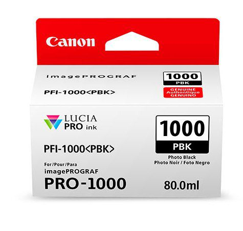 PFI-1000PBK Photo Black 80 мл (0546C001)