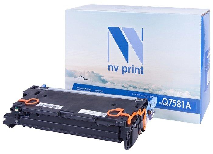 Фото - Картридж NV Print Q7581A картридж nv print q7581a для hp
