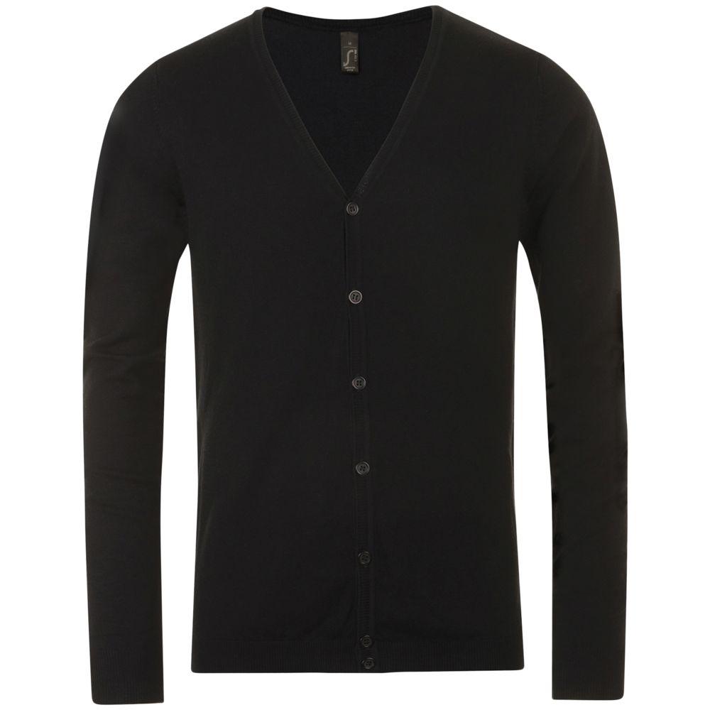 Кардиган мужской GRIFFITH черный, размер XL кардиган мужской griffith черный размер s
