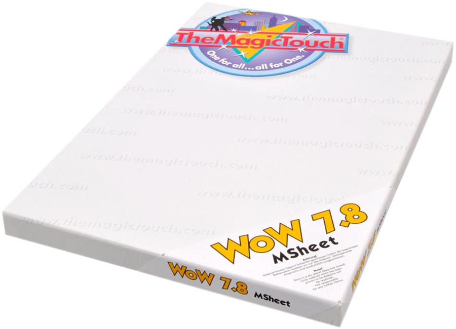 WoW 7.8/100 HD-Msheet A4 (Термотрансферная бумага для черного и темного текстиля) наклейка widex hd a4 a4