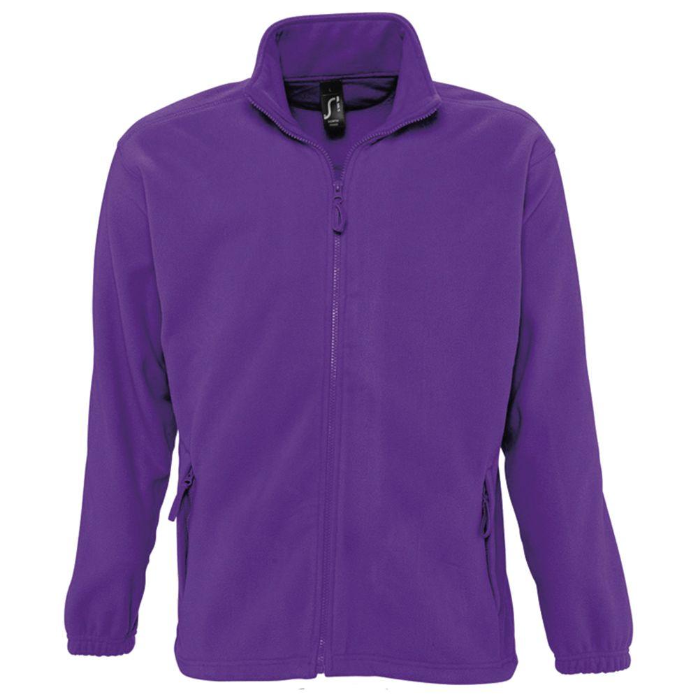 Куртка мужская North фиолетовая, размер S фото