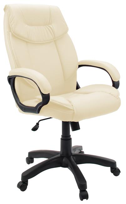 Кресло руководителя Гелеос Бизнес, кремовое рама выдвижная 620 690 мм глубина 514 мм высота 58 мм серия prestige