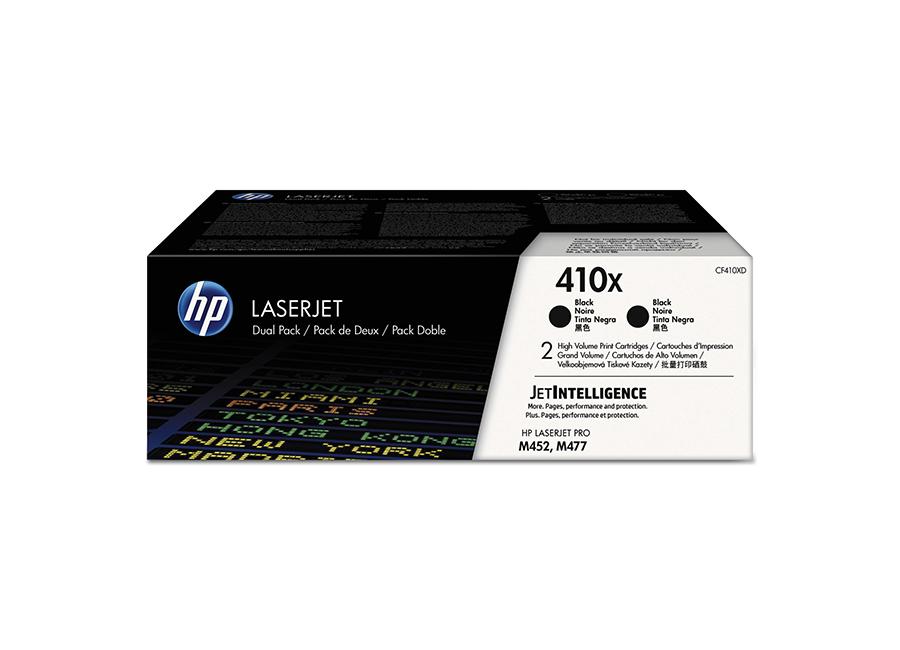 Фото - Тонер-картридж HP 410XD черный, двойная упаковка (CF410XD) тонер картридж 728 3500b010 русифицированная упаковка