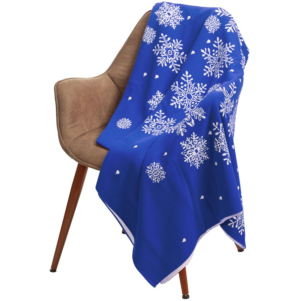 Плед Snow Fairy, синий (василек)