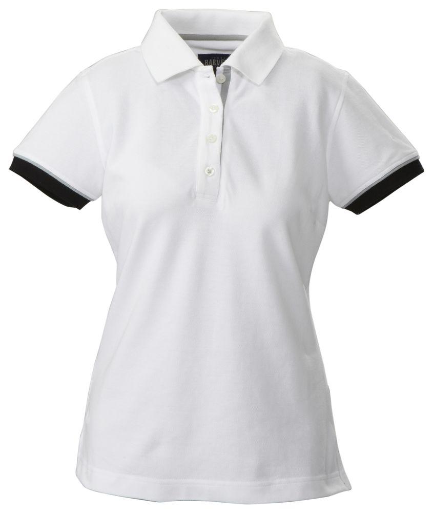 Фото - Рубашка поло женская ANTREVILLE, белая, размер L женская рубашка burberry 39686751 39686761 dfs