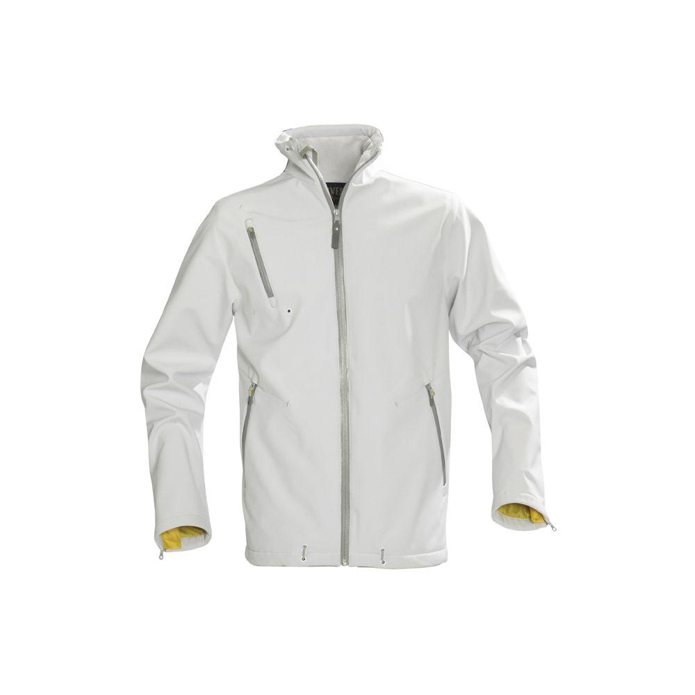Куртка софтшелл мужская SNYDER, белая, размер M