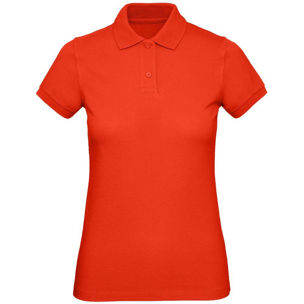 Рубашка поло женская Inspire красная, размер S рубашка женская levi s® ultimate boyfriend цвет черный 5893700250 размер s 44