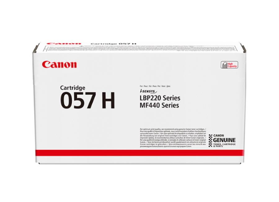 Фото - Тонер-картридж Canon CRG 057 H (3010C002) картридж canon 057hbk 3010c002
