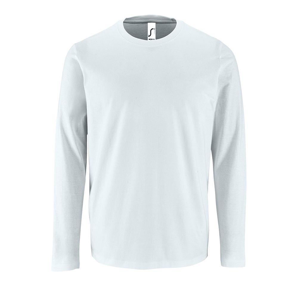 Фото - Футболка с длинным рукавом IMPERIAL LSL MEN белая, размер L l o l футболка l o l с длинным рукавом очки бирюза 128