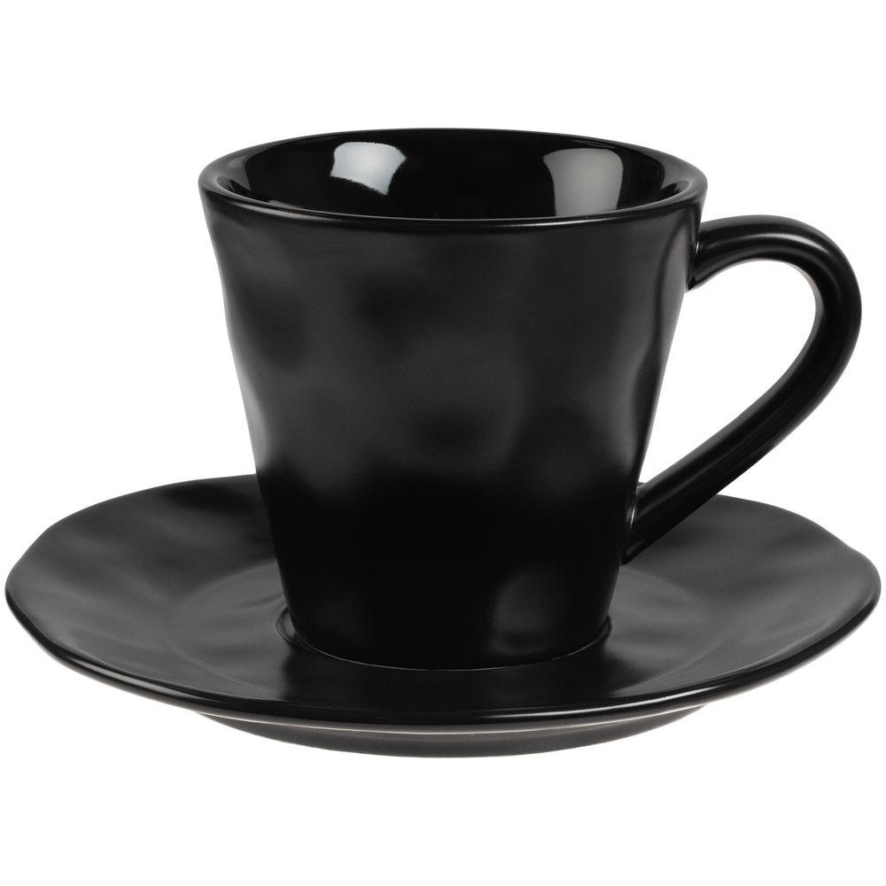 цена Кофейная пара Dark Fluid, черная онлайн в 2017 году