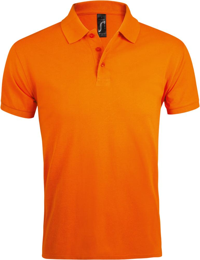 Рубашка поло мужская PRIME MEN 200 оранжевая, размер XL рубашка поло мужская prime men 200 бежевая размер xl