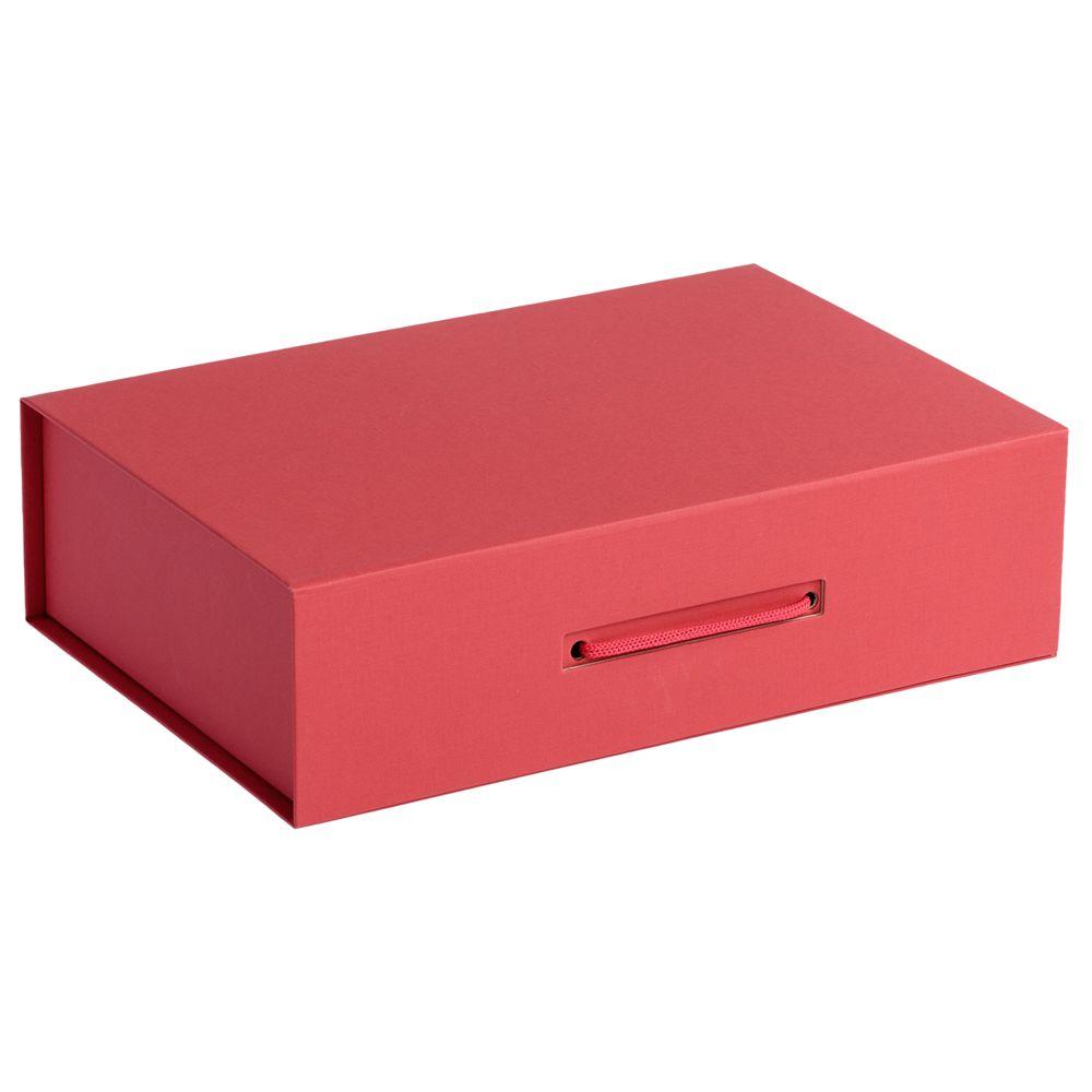 Коробка Case, подарочная, красная недорого