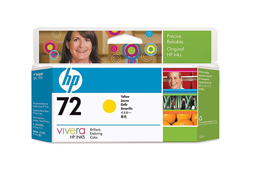 HP DesignJet 72 Yellow 130 мл (C9373A)