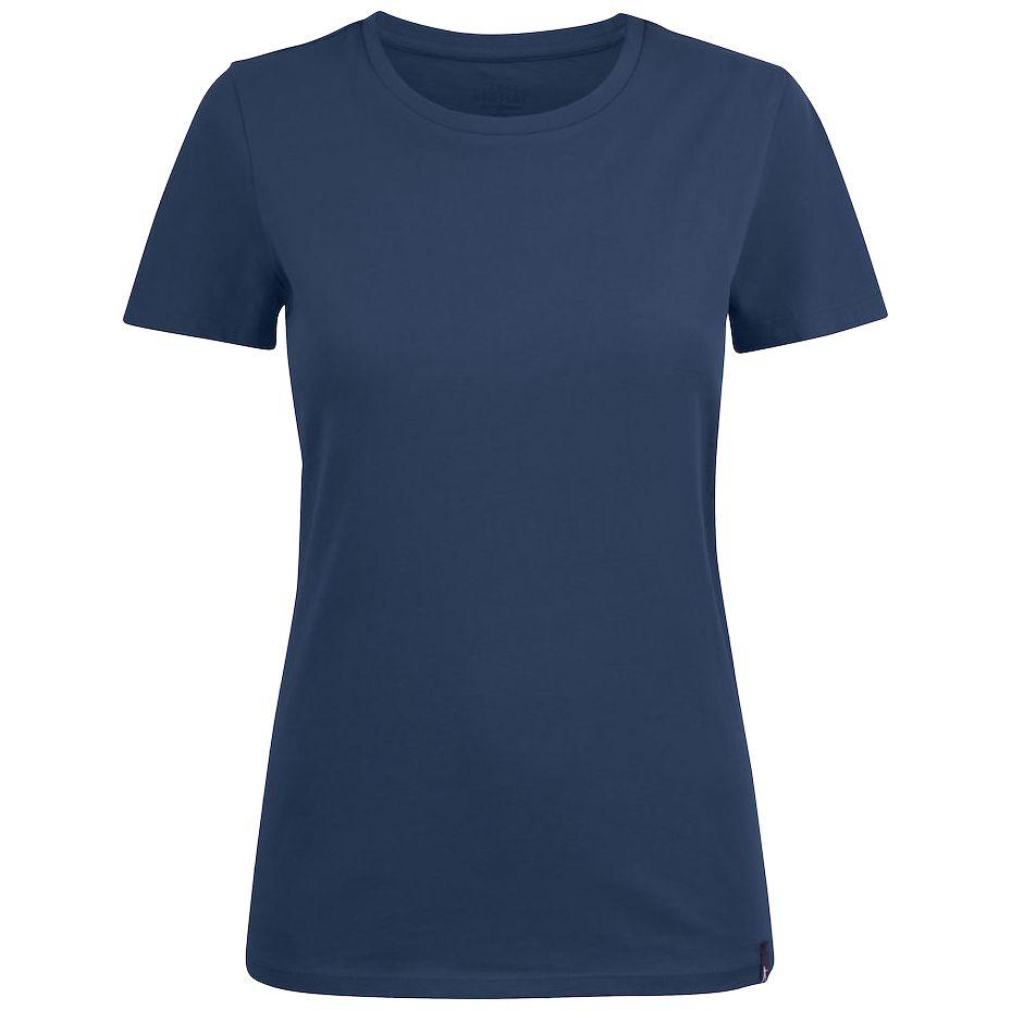 Футболка женская LADIES AMERICAN U синяя, размер L фото