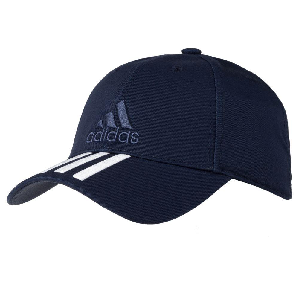 Бейсболка SIX-PANEL CLASSIC 3-STRIPES темно-синяя, размер 56 бейсболка robin ruth russia цвет темно синий crus119 b размер универсальный