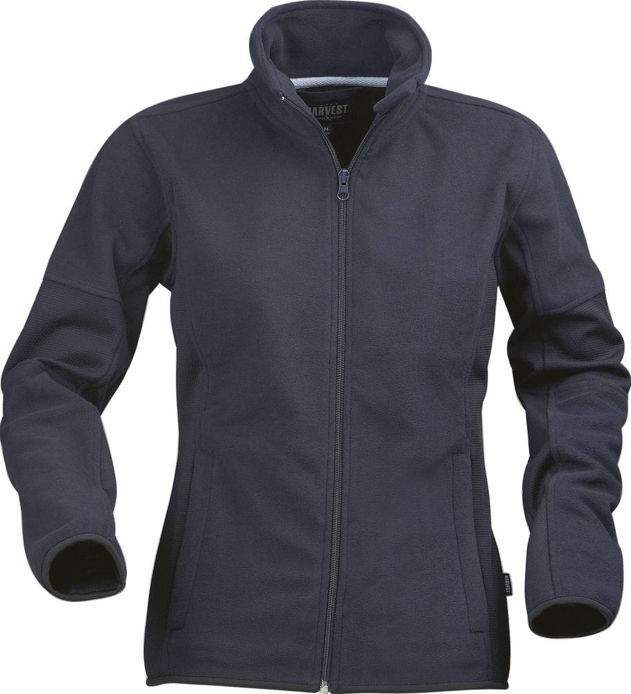 цена Куртка флисовая женская SARASOTA, темно-синяя, размер XL онлайн в 2017 году