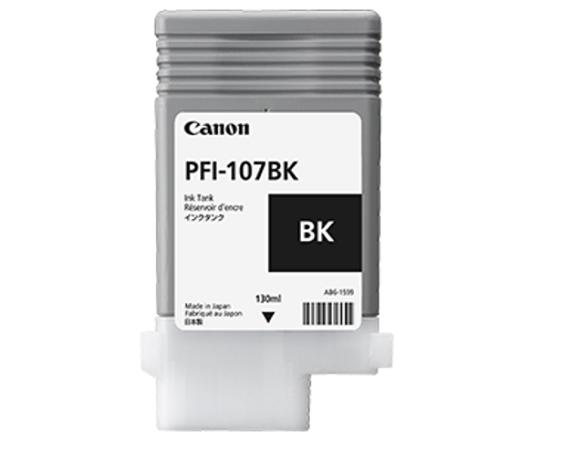 PFI-107BK Black 130 мл (6705B001) плоттер canon imageprograf ipf785