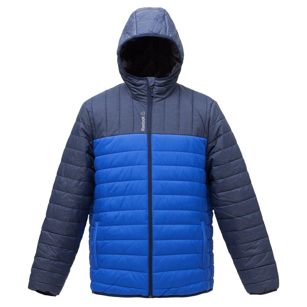 Куртка мужская Outdoor, темно-синяя с ярко-синим, размер XL