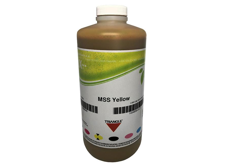 Фото - Бутыль с экосольвентными чернилами Triangle MSS Eco Yellow 1 л (INX-1454836_01LT) urtekram мужской лосьон для лица и тела алоэ вера баобаб 150 мл