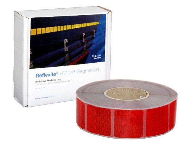 Фото - Oralite/Reflexite VC104+ Curtain Grade Segmented для мягкого тента, сегментированная, красная 0.05x50 м oralite reflexite vc104 curtain grade segmented для мягкого тента сегментированная белая 0 05x50 м