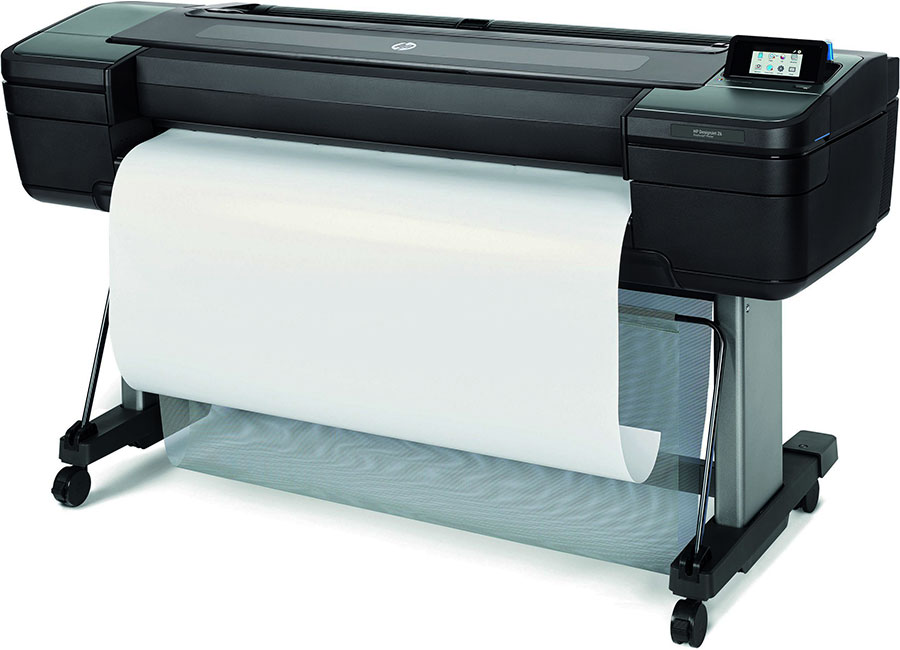 HP DesignJet Z6dr 44-in Postscript Printer with V-Trimmer (T8W18A)