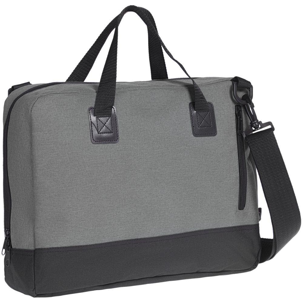 Сумка для документов Unit Bimo Conference, серая сумка для ноутбука unit bimo work зеленая