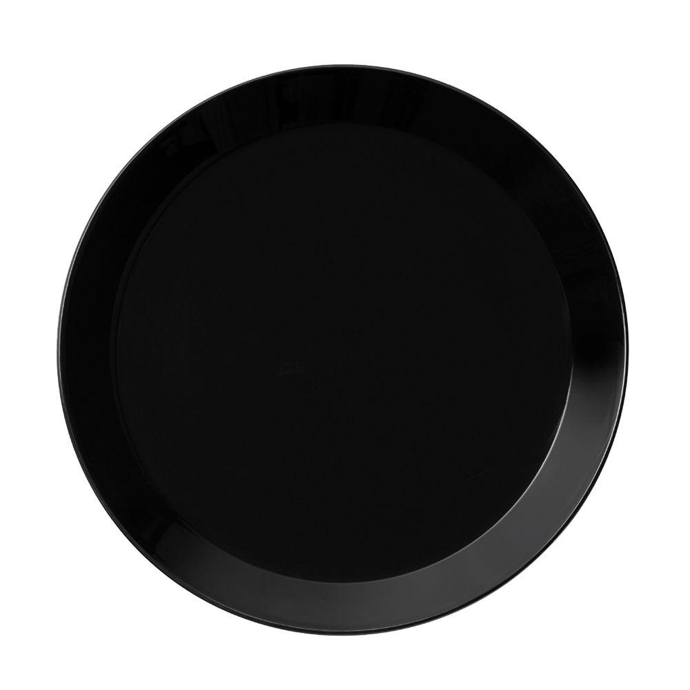 Тарелка Teema, малая, черная глубокая тарелка teema черная