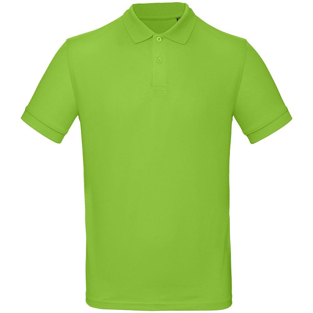 Рубашка поло мужская Inspire зеленое яблоко, размер XXXL