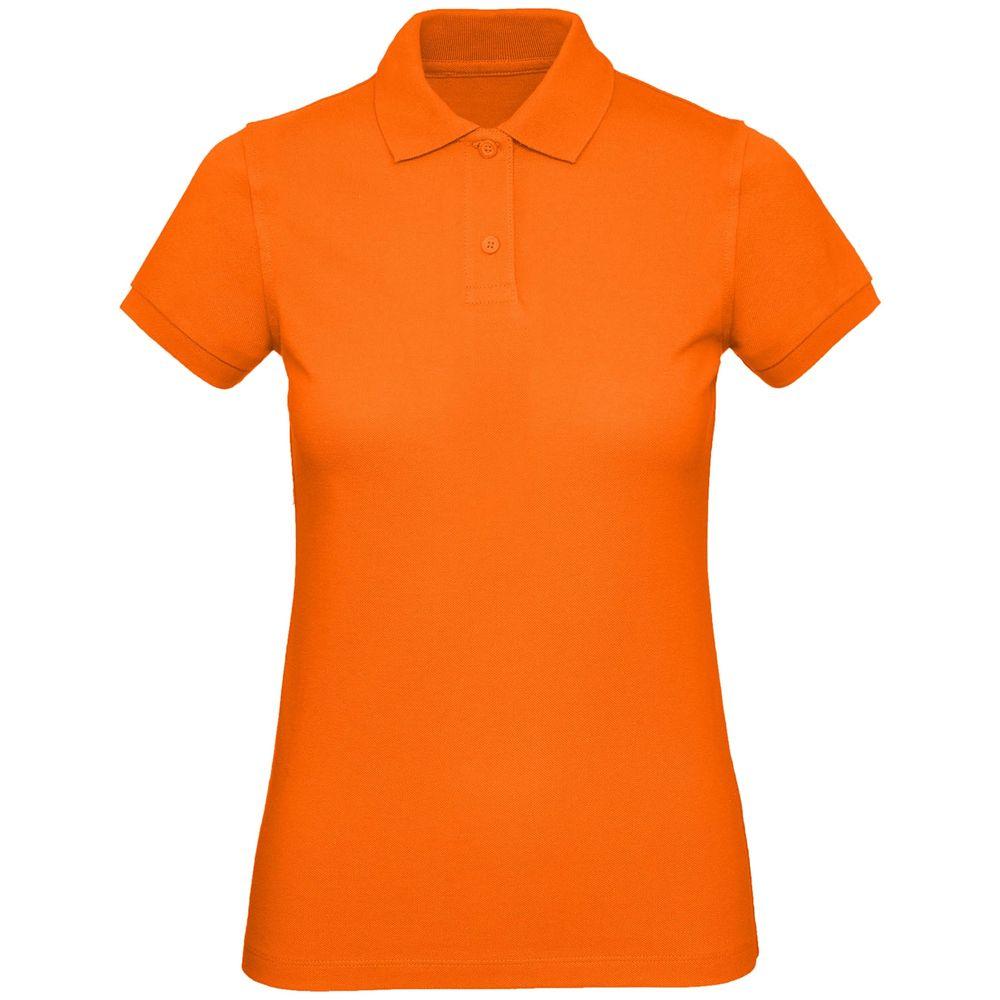 Рубашка поло женская Inspire оранжевая, размер S рубашка женская levi s® ultimate boyfriend цвет черный 5893700250 размер s 44