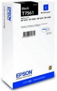 Фото - Картридж с черными чернилами Epson T7561 для WF-8090, 8590 (C13T756140) картридж с черными фото чернилами epson t0541 c13t05414010