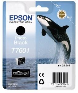 Фото - Контейнер с черными чернилами T7601 для SC-P600 (C13T76014010) картридж с черными фото чернилами t0961 c13t09614010