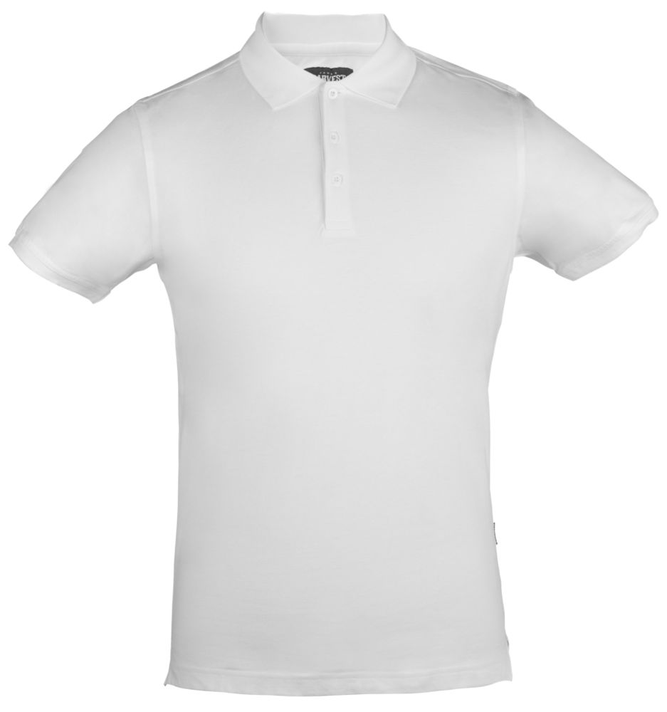 Рубашка поло стретч мужская EAGLE, белая, размер XL