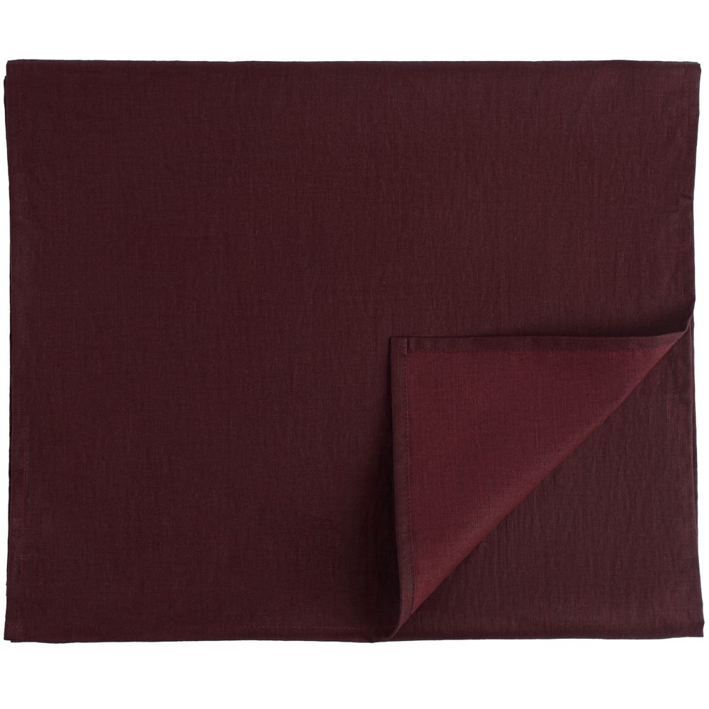 Дорожка на стол Essential Deco, бордовая дорожка на стол 45x150 ramish