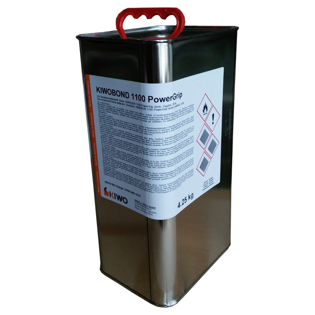 Фото - Двухкомпонентный клей для трафаретных сеток KIWO KIWOBOND 1100 PowerGrip (4.25 кг.) универсальная фотоэмульсия kiwo azocol z1 0 9 кг