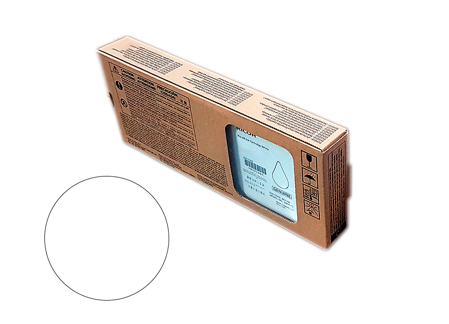 Картридж повышенной ёмкости Ricoh AR Bulk ink cartridge White 1200 мл (344111)