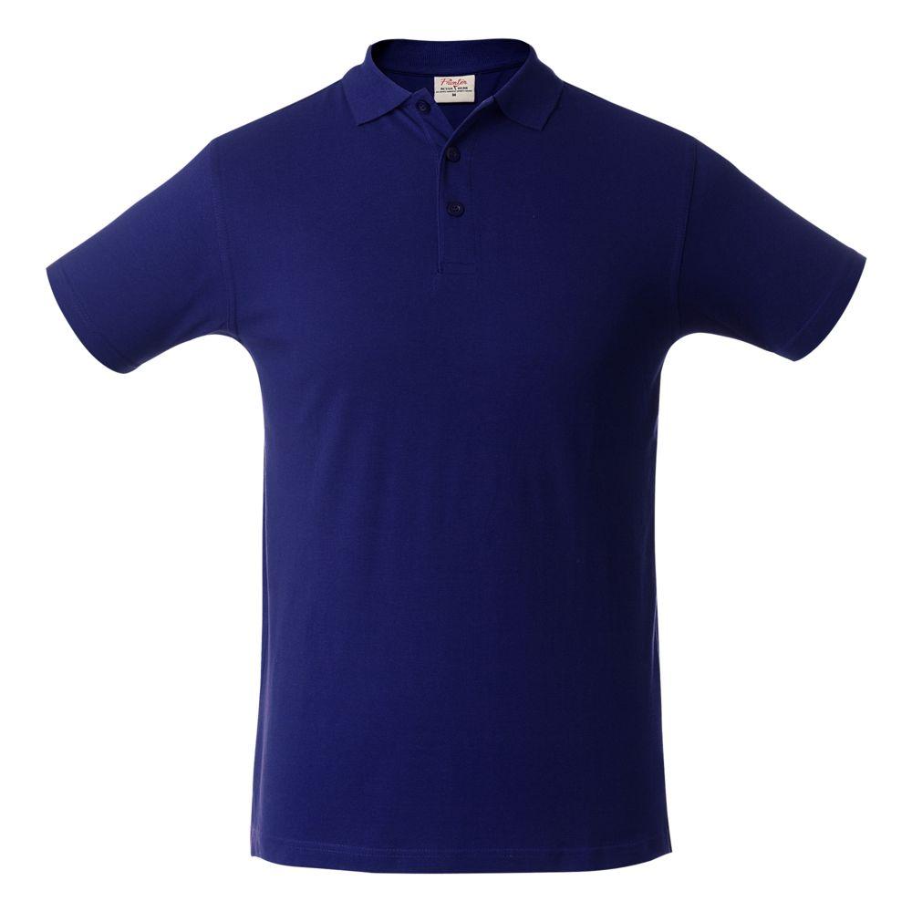 Рубашка поло мужская SURF синяя, размер S