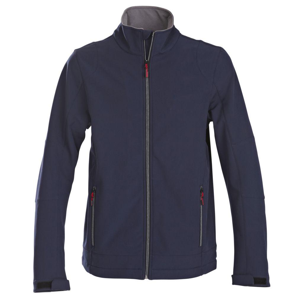 Куртка софтшелл мужская TRIAL темно-синяя, размер M куртка мужская finn flare цвет темно зеленый w18 22011 размер m 48