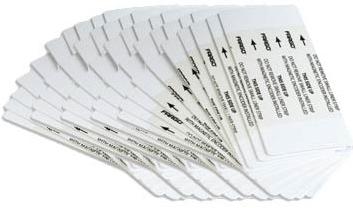 Фото - Двусторонние экстра чистящие карты Fargo 86141 defender cln30100 салфетки чистящие 110 шт