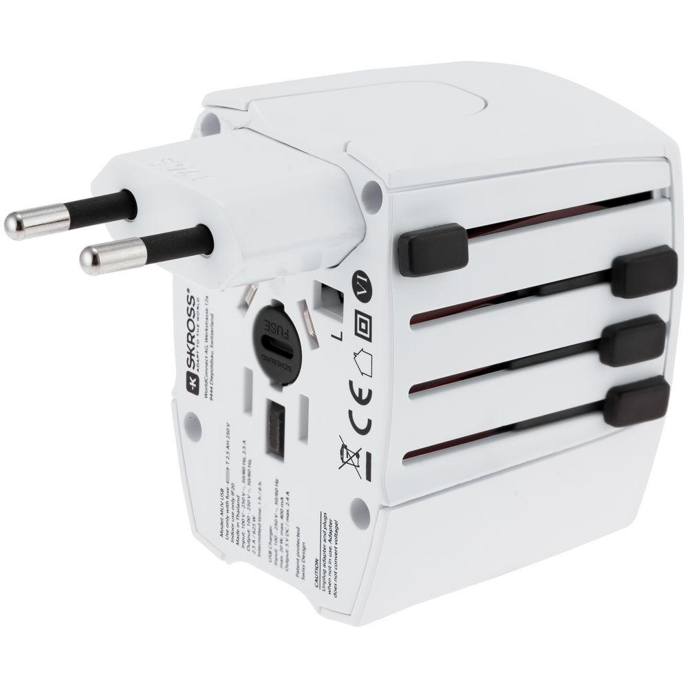 Фото - Зарядное устройство S-Kross MUV USB для путешествий, белое зарядное устройство olympus bcn 1 для omd
