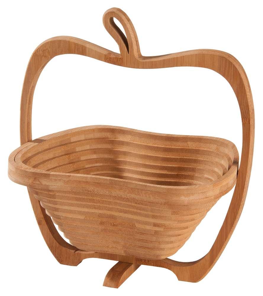 цена на Фруктовница из бамбука «Яблоко»
