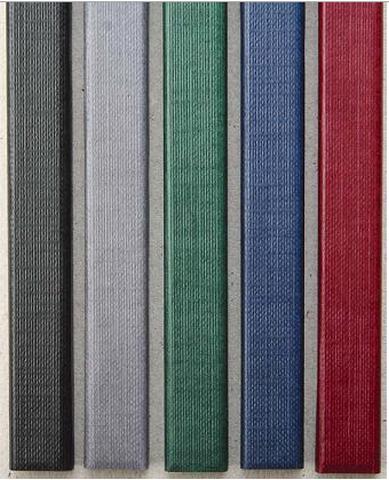 Фото - Цветные каналы с покрытием «ткань» O.CHANNEL SLIM А4 304 мм Mini, серый hatber бизнес блокнот лайт majestic 128 листов в клетку цвет серый 44350