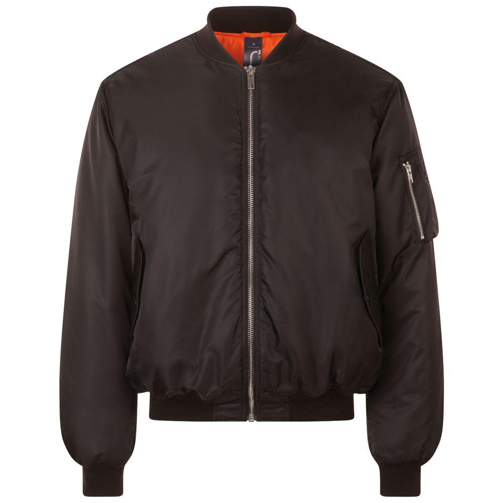 Куртка бомбер унисекс REMINGTON черная, размер 3XL куртка бомбер унисекс rebel черная размер xl